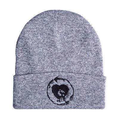Heart Fist Grey | Beanie