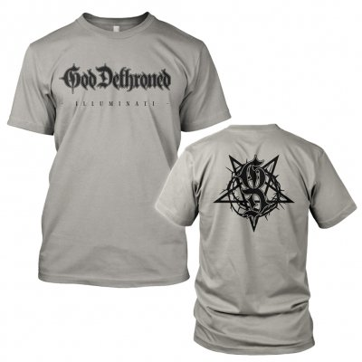 God Dethroned - Illuminati Grey | T-Shirt