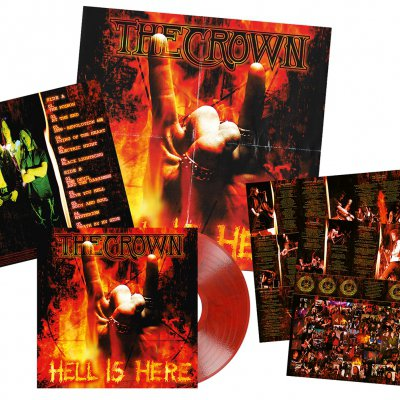 The Crown - Hell Is Here | Red/Black Marbled Vinyl