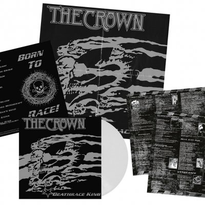 The Crown - Deathrace King | Clear White Vinyl