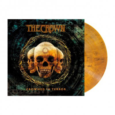 The Crown - Crowned In Terror | Amber Marbled Vinyl