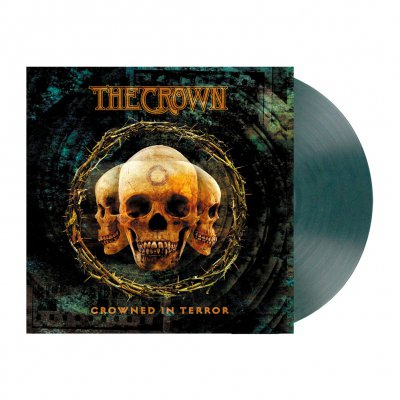 Crowned In Terror | Clear Teal Marbled Vinyl