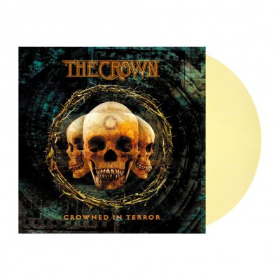 The Crown - Crowned In Terror | Bone White Marbled Vinyl