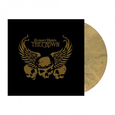 Crowned Unholy | Dead Gold Marbled Vinyl