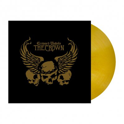 Crowned Unholy | Opaque Golden Yellow Marbled Viny