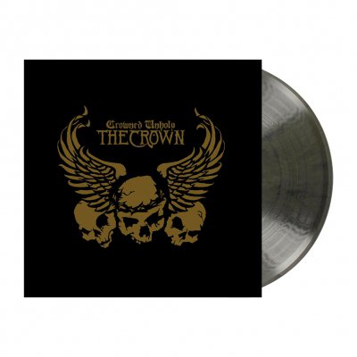 Crowned Unholy | Clear/Black Marbled Vinyl