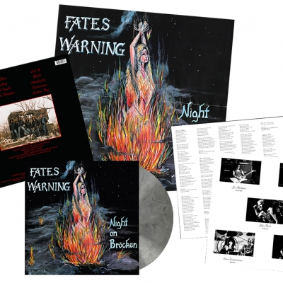 Fates Warning - Night On Bröcken | Nightgrey Marbled Vinyl