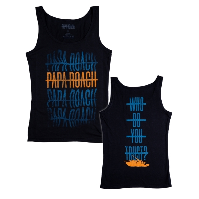 Papa Roach - WDYT Warped Repeater | Girl Fitted Tank Top