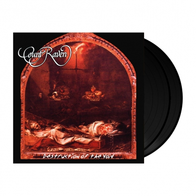 Count Raven - Destruction Of The Void | 2x180g Black Vinyl
