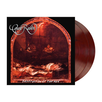 Count Raven - Destruction Of The Void | 2xBurnt Sienna Orange Ma