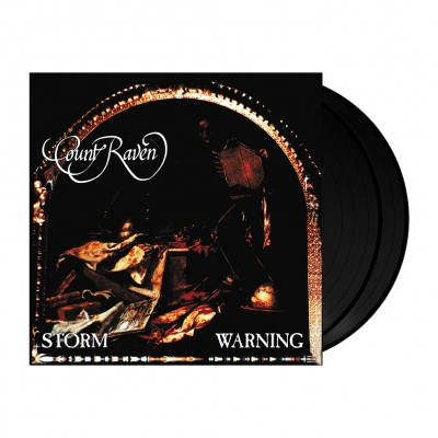 Count Raven - Storm Warning | 2x180g Black Vinyl