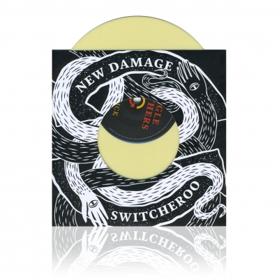 shop - New Damage Switcheroo | 7inch Yellow Vinyl