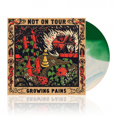 Not On Tour - Growing Pains | Green/Bone White Vinyl