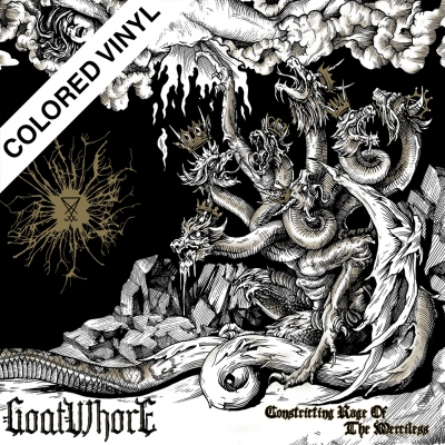 Goatwhore - Constricting Rage Of The Merciless | Gold w/ Black