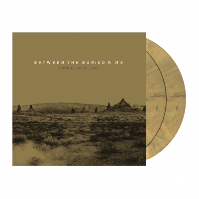 Between The Buried And Me - Coma Ecliptic Live | 2xGolden Yellow Marbled Vinyl