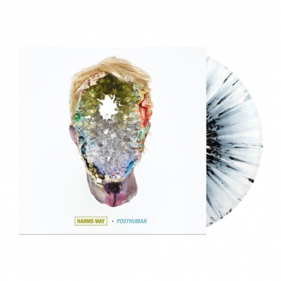 Harm's Way - Posthuman | White/Black Marbled Vinyl