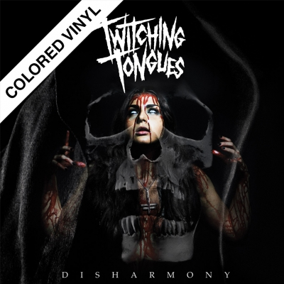 Twitching Tongues - Disharmony | 180g Red Vinyl