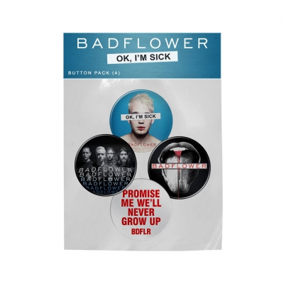 Badflower - Div | Button Pack