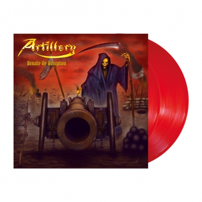 Artillery - Penalty By Perception | 2xRed Orange Vinyl