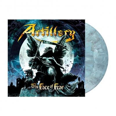 shop - The Face Of Fear | Opaque Grey/Blue Marbled Vinyl