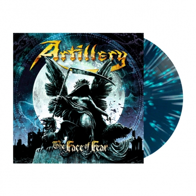 Artillery - The Face Of Fear | Blue/Green/White Splatter Vinyl