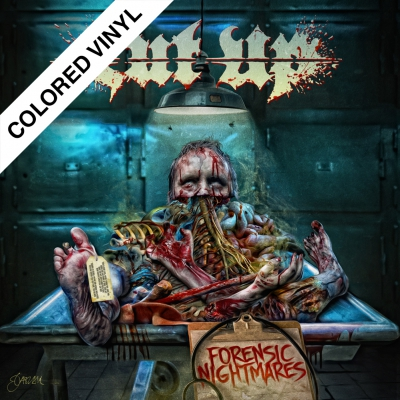 Cut Up - Forensic Nightmares | Cyan Blue Vinyl