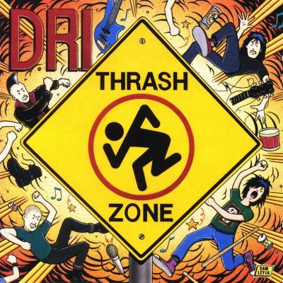 D.R.I. - Thrash Zone | CD
