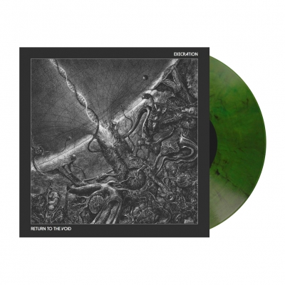 Execration - Return To The Void | Pot Green Marbled Vinyl