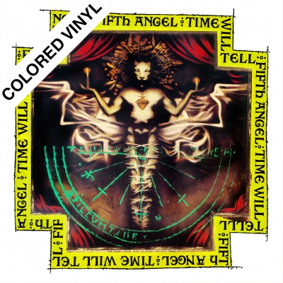 Fifth Angel - Time Will Tell | White/Black Marbled Vinyl
