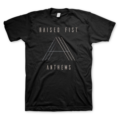 Raised Fist - Anthems Gradient | T-Shirt