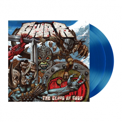 Gwar - The Blood Of Gods | Transparent Blue Vinyl