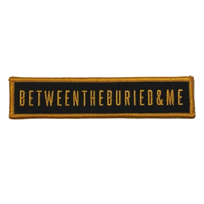 Between The Buried And Me - Logo Gold | Patch