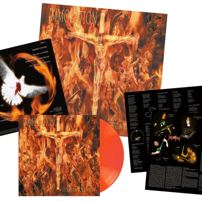 Immolation - Close To A World Below | Orange Vinyl