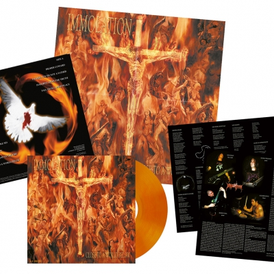 Immolation - Close To A World Below | Orange Red Vinyl