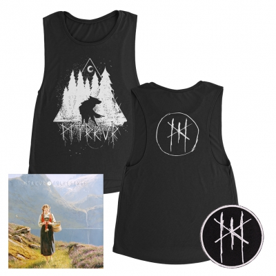 shop - Folkesange | CD+Patch+Girl Tank Bundle