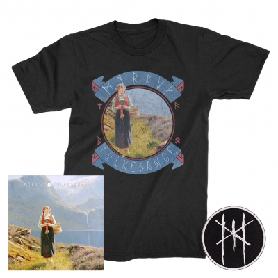 Myrkur - Folkesange | CD+Patch+Meadows T-Shirt Bundle