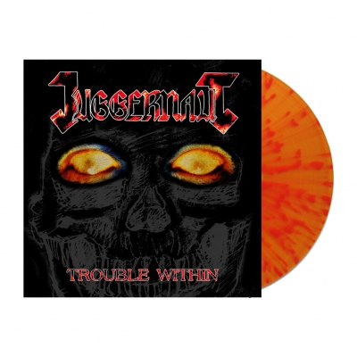 Juggernaut - Trouble Within | Orange/Red Splatter Vinyl