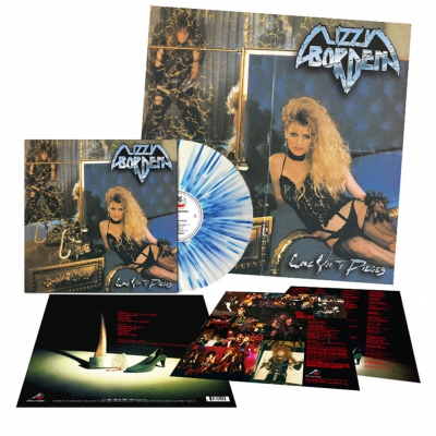 Lizzy Borden - Love You To Pieces | White/Blue Splatter Vinyl