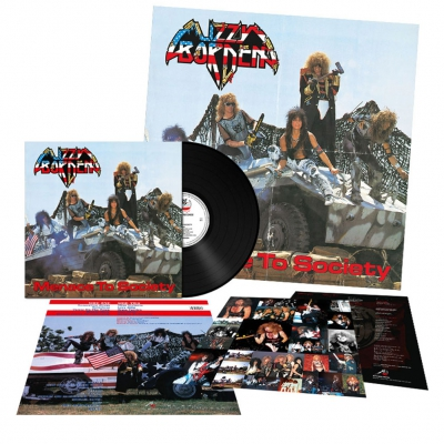 Lizzy Borden - Menace To Society | 180g Black Vinyl