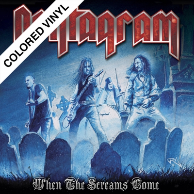 Pentagram - When The Screams Come | 2xClear/Blue Splatter Viny