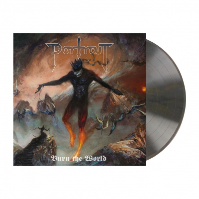 shop - Burn The World | Mahagony Brown Marbled Vinyl