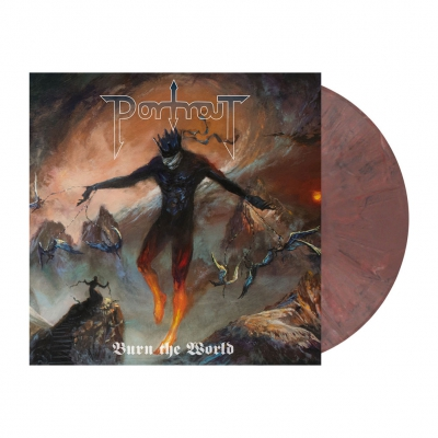 Portrait - Burn The World | Pale Violet Red Marbled Vinyl