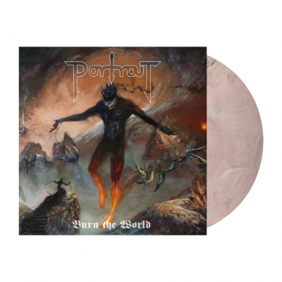 Portrait - Burn The World | Pastel Rose Marbled Vinyl
