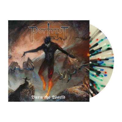 shop - Burn The World | Multicolor Splatter Vinyl