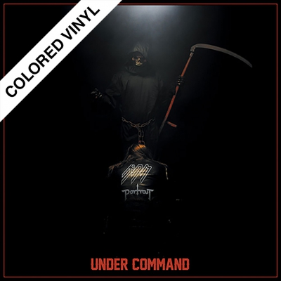 shop - Under Command | Bone Colored/Red Splatter Vinyl
