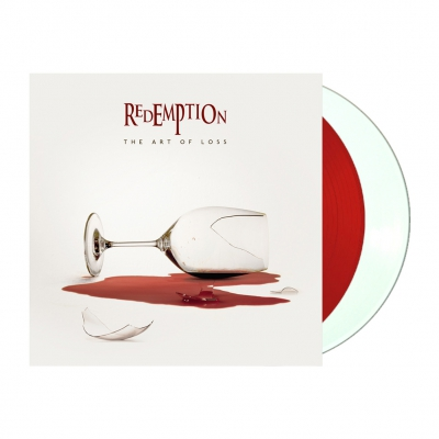 Redemption - The Art Of Loss | 2xWhite & Red Vinyl