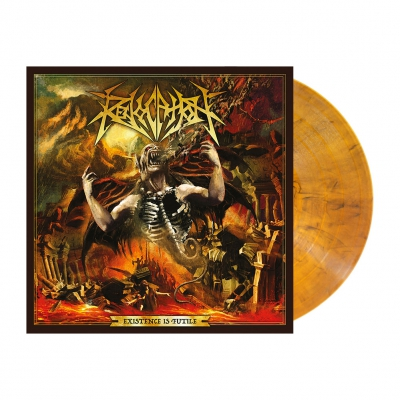 Revocation - Existence Is Futile | Amber Marbled Vinyl