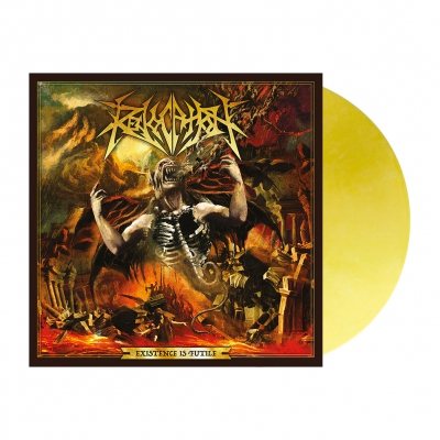 metal-blade - Existence Is Futile | Pale Golden Yellow Vinyl