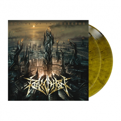 Revocation - Empire Of The Obscene | 2xOlive Marbled Vinyl