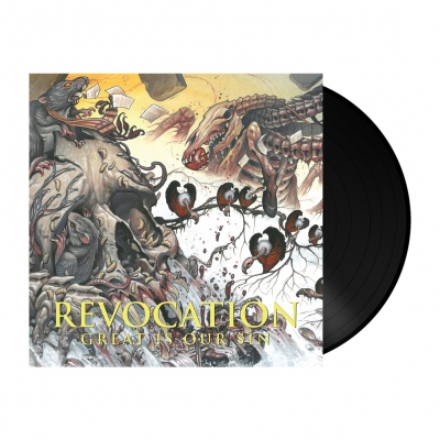 Revocation - Great Is Our Sin | 180g Black Vinyl